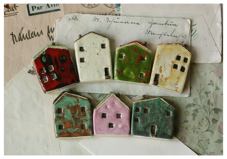 Mix domków ceramicznych