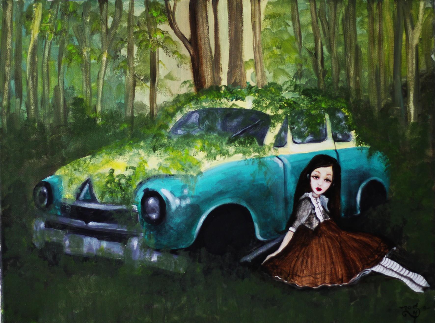 Samotność w lesie