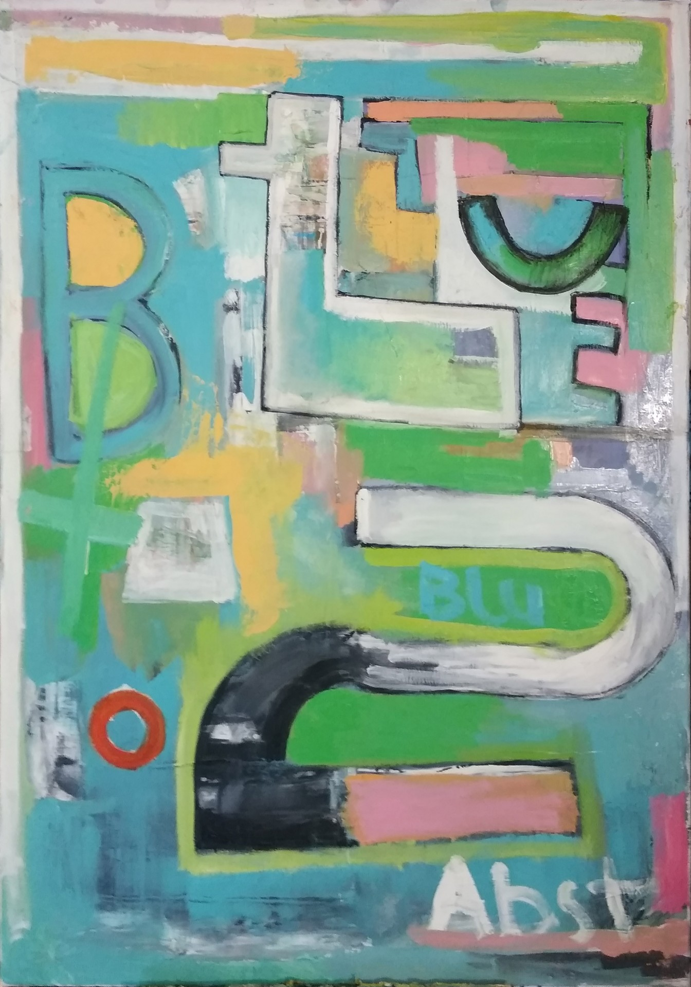 Blue Abstract No.2