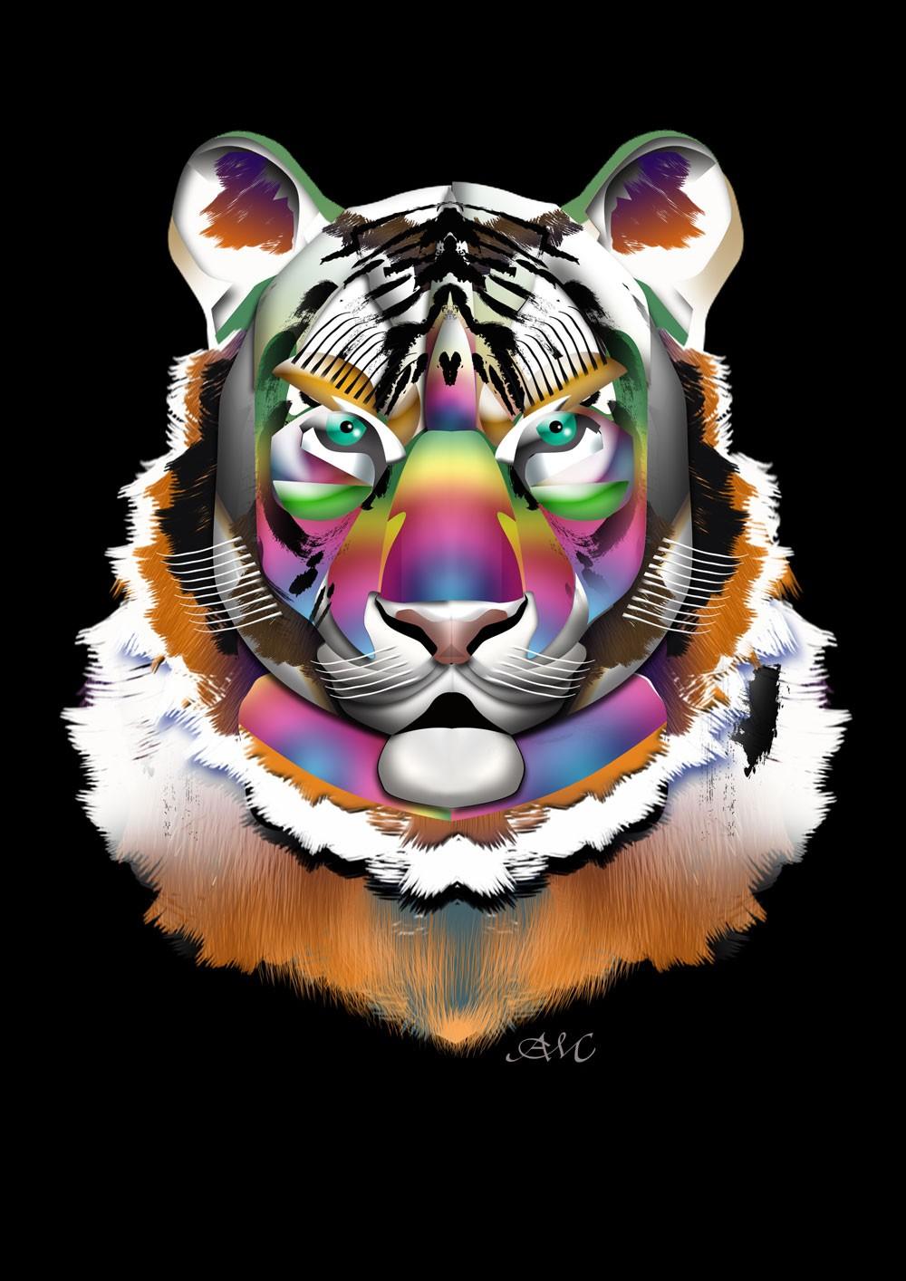 Tęczowy tygrys