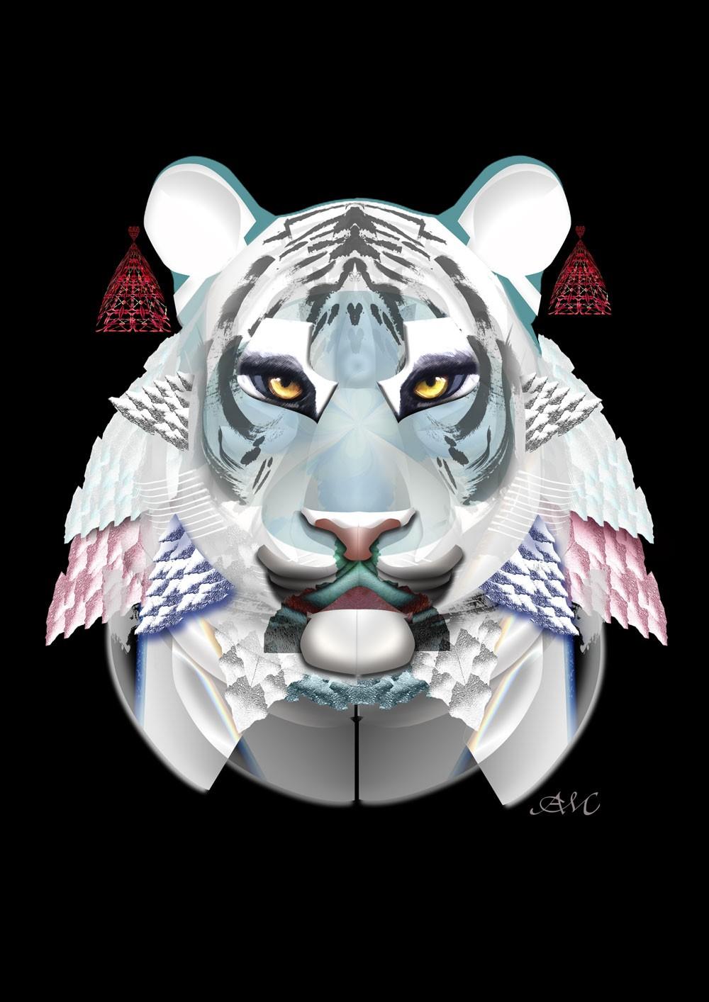 Tygrys Biały Cień