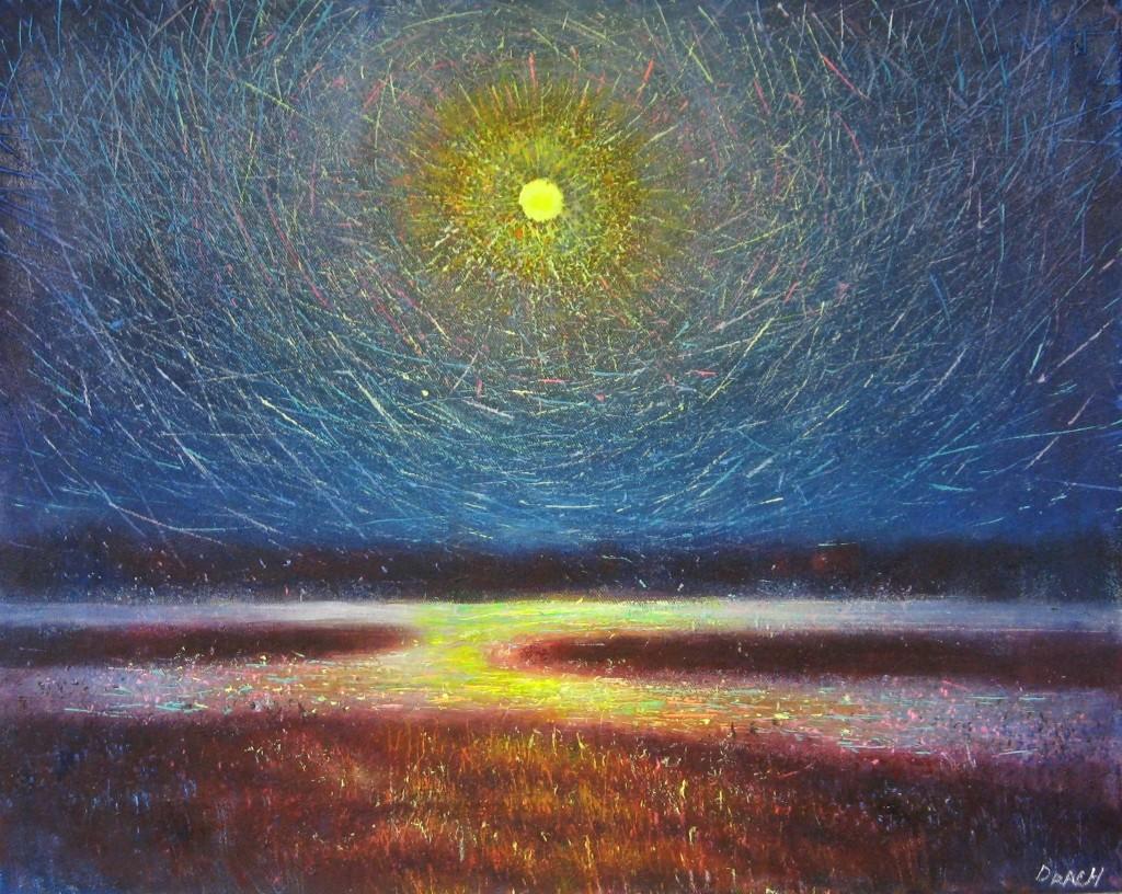 Księżyc świeci