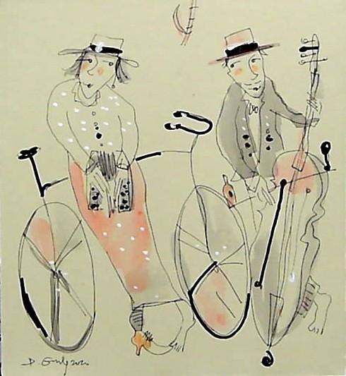 Zakochani na rowerach.. 2 prace!!!