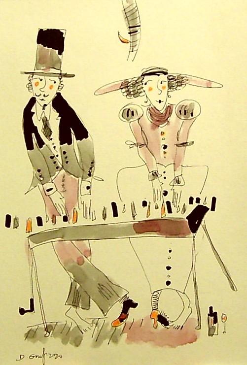 Pianinowy duet