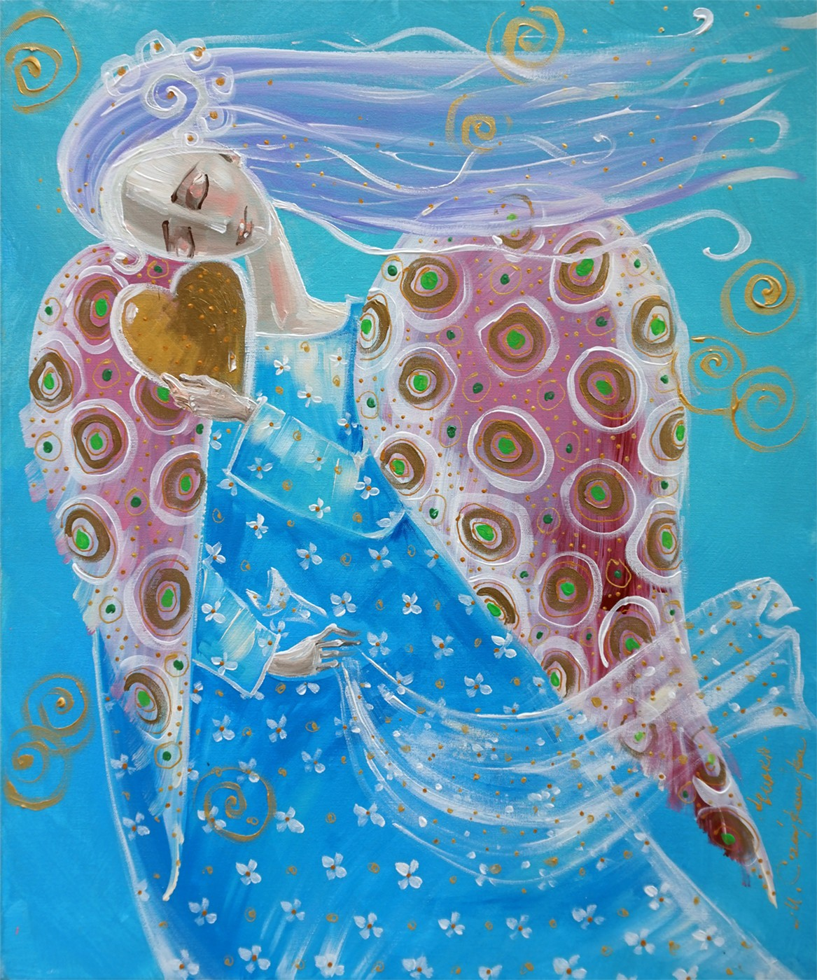 Miłość jest jak wiatr nie widzisz jej a czujesz