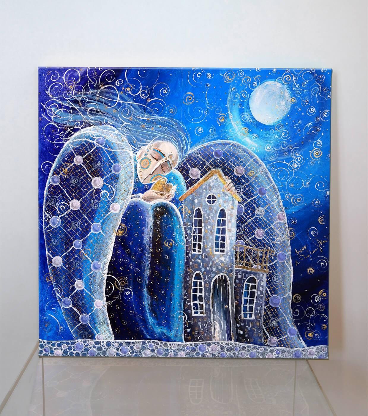 Dom to miejsce, gdzie zaczynają się miłość, nadzieja, marzenia (Giclee)