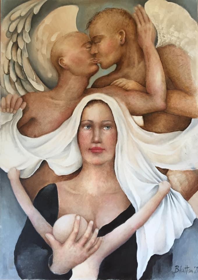 Madonna i Aniołki