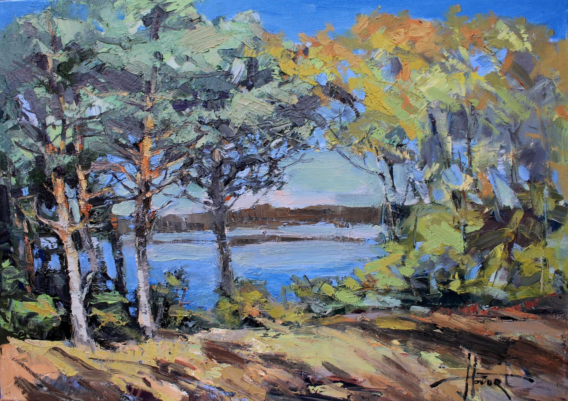 Jesienne jezioro