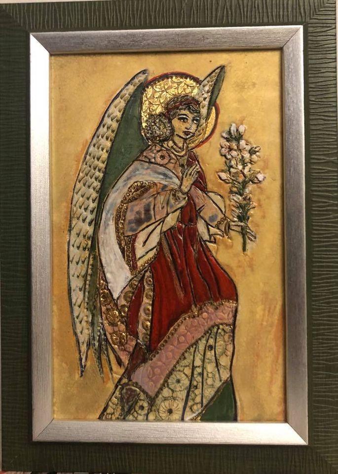Anioł zwiastujący dobrą nowinę