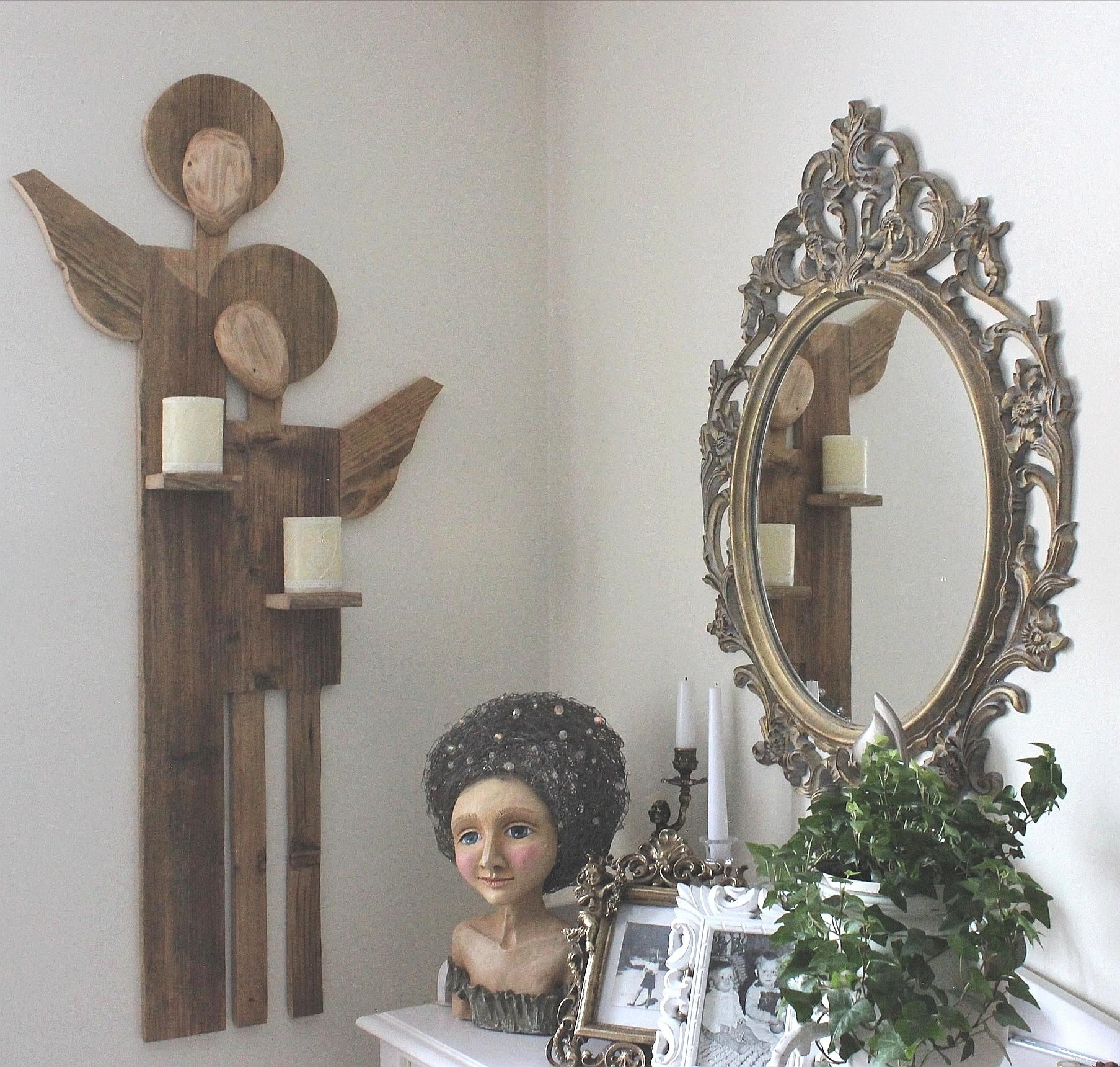 Anioł na dwie świece