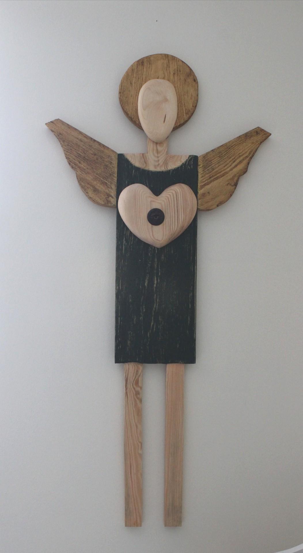 Anioł Klucz do serca